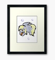 Chibi Derpy Framed Print