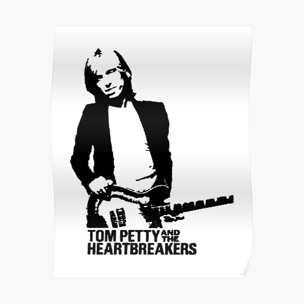 Tom Petty and the Heartbreakers Repro Tour POSTER