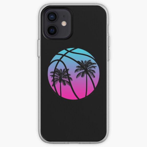 Baloncesto Miami Vice - Negro Funda blanda para iPhone