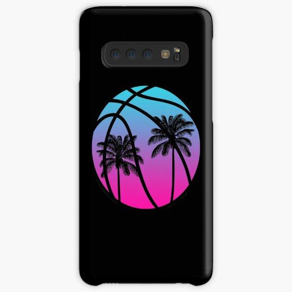 Miami Vice Basketball - Noir Coque rigide Samsung Galaxy