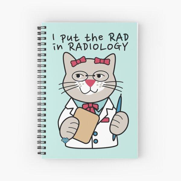 Radiólogo Radiólogo Cuaderno de espiral