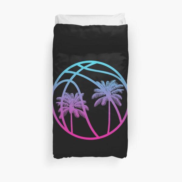 Miami Vice Basketball - Black alternate Duvet Cover
