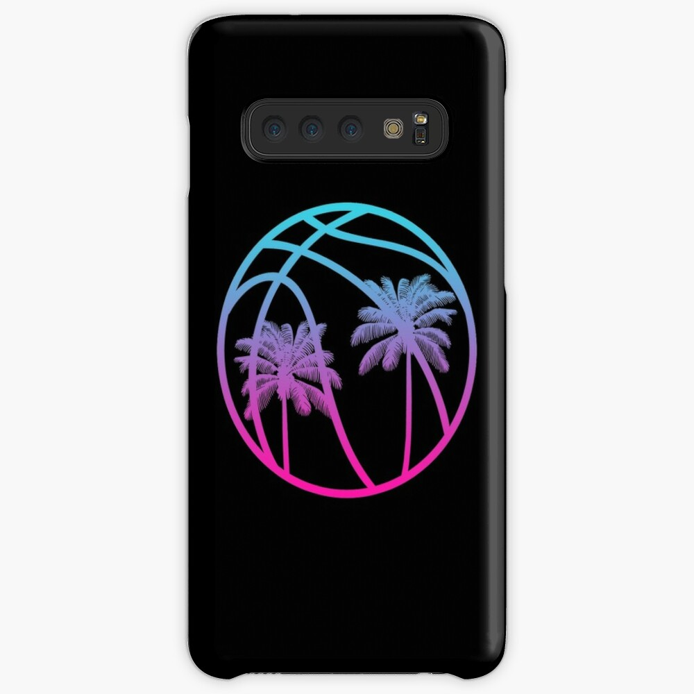 Miami Vice Basketball - Black alternate Case & Skin for Samsung Galaxy