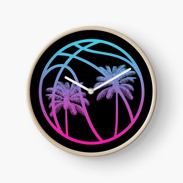 Miami Vice Basketball - Black alternate Clock