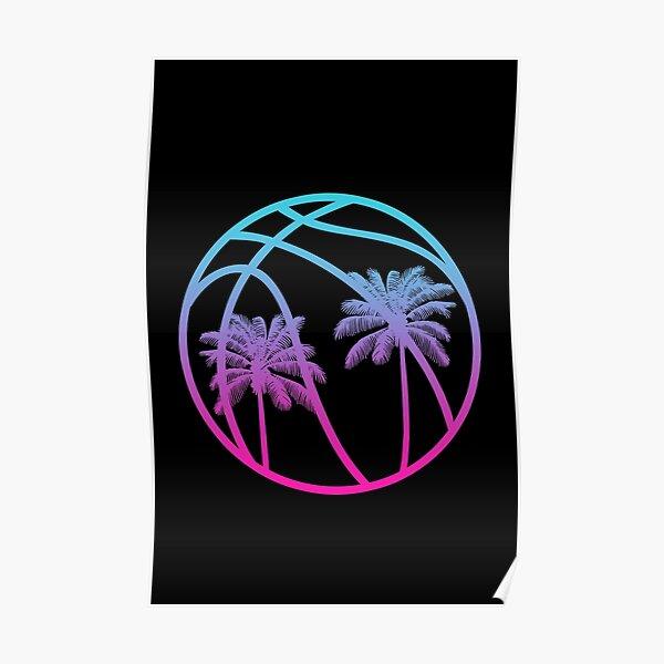 Miami Vice Basketball - Black suppléant Poster