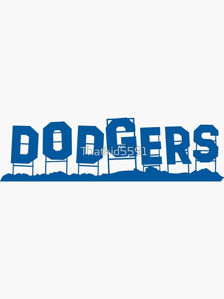 Dodgers Hollywood-Zeichen von Thatkid5591