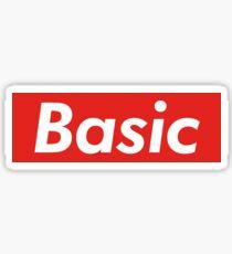 Supremely Basic Glossy Sticker