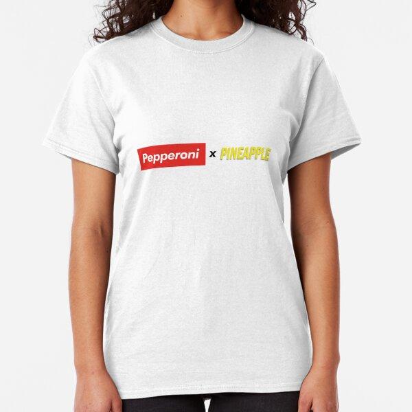 Pepperoni X Pineapple Classic T-Shirt