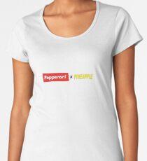 Pepperoni X Pineapple Premium Scoop T-Shirt