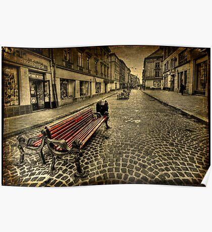 Street Seat Poster