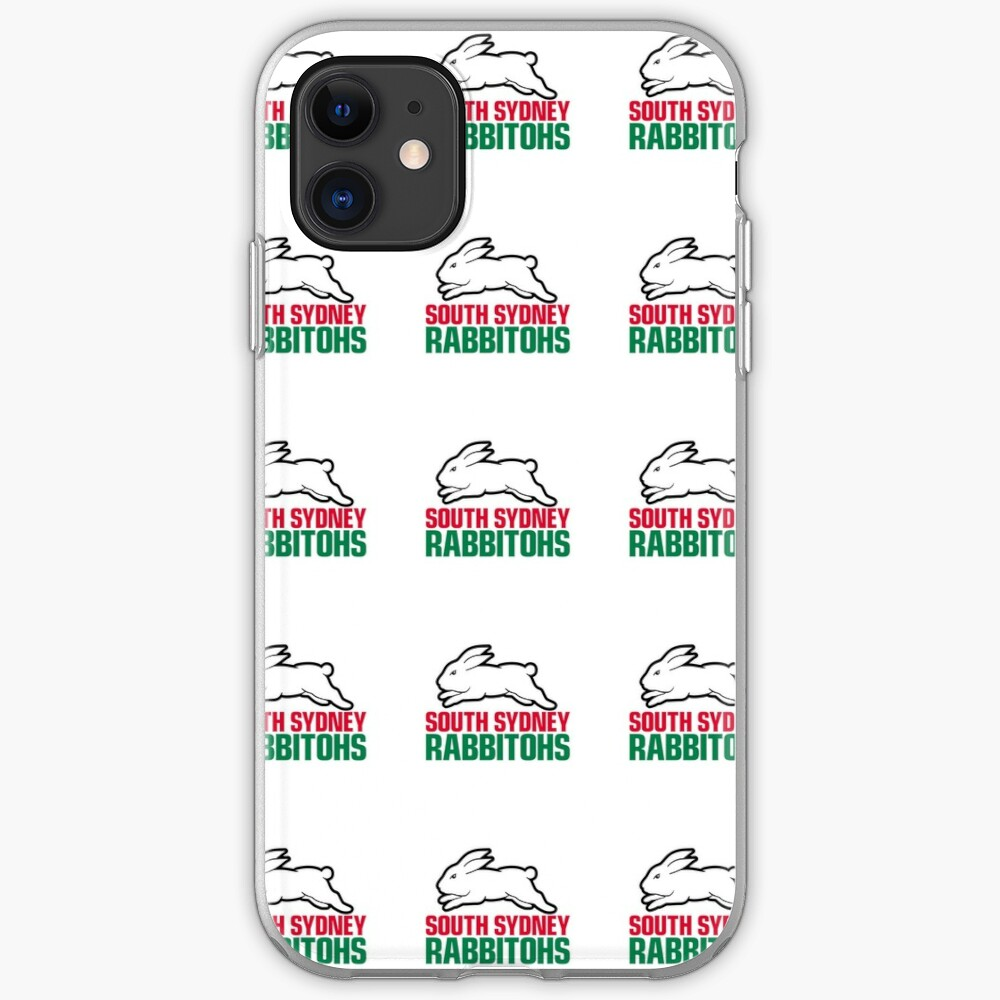 South Sydney Rabbitohs Logo Iphone Case Cover By Southsydney1 Redbubble