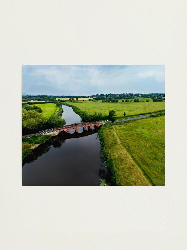 Alternate view of Eckington Bridge Photographic Print
