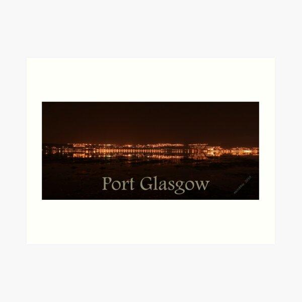 Port Glasgow 4 Art Print