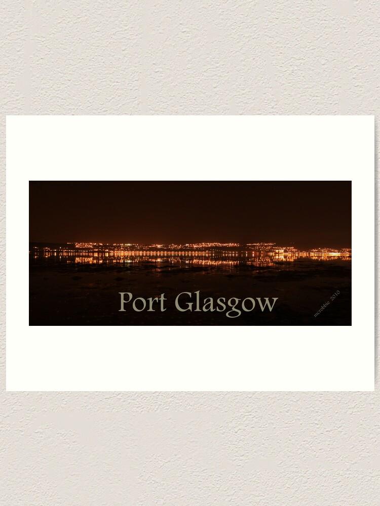Alternate view of Port Glasgow 4 Art Print