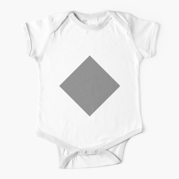 Illustration Short Sleeve Baby One-Piece