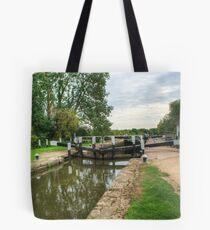 Denham Deep Lock on the Grand Union Canal Tote Bag
