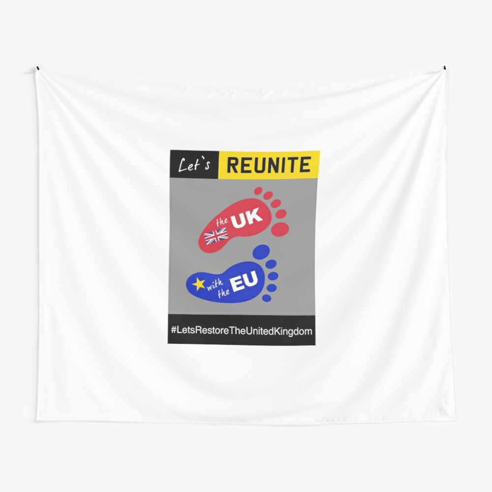 Let's Reunite! Wall Tapestry