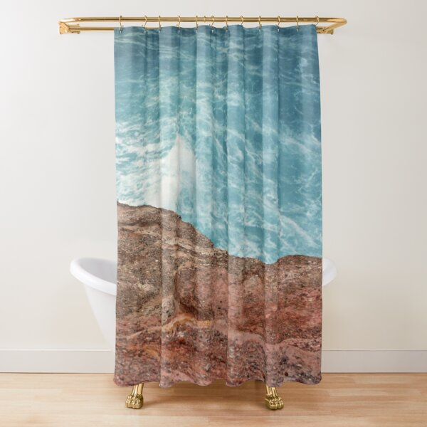 Sunrise at Redhead Bluff Shower Curtain