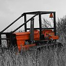 Abandoned Tractor by Dave Godden