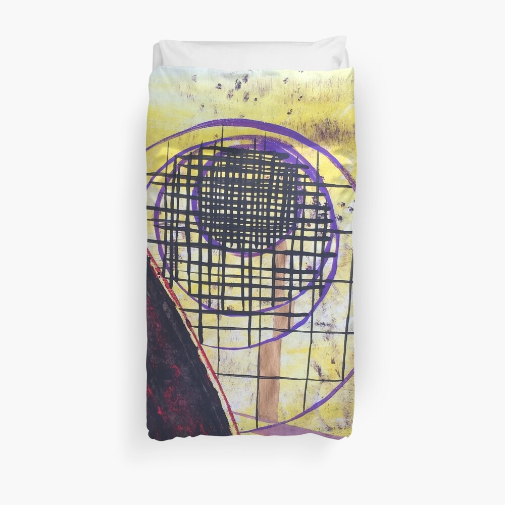 The Droste Effect by Margo Humphries Duvet Cover