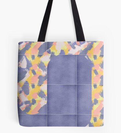 Messy Painted Tiles 02 #redbubble #midmod Tote Bag
