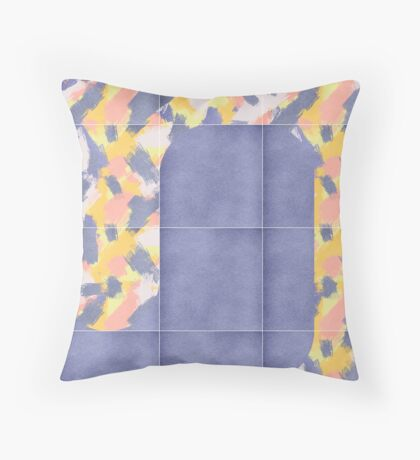 Messy Painted Tiles 02 #redbubble #midmod Floor Pillow