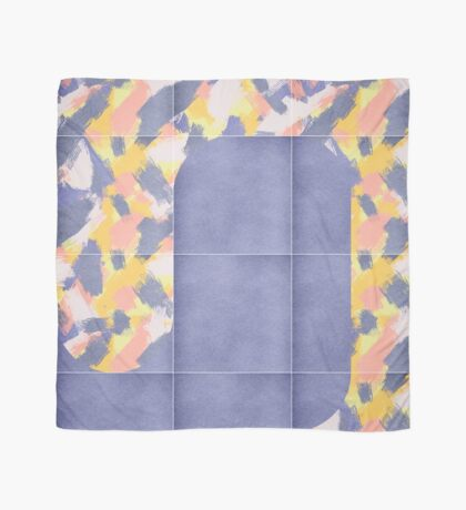 Messy Painted Tiles 02 #redbubble #midmod Scarf