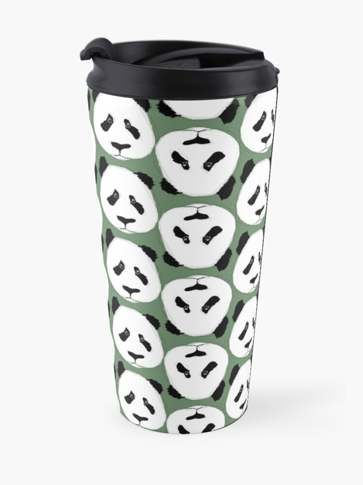 Alternate view of Panda Party Travel Mug