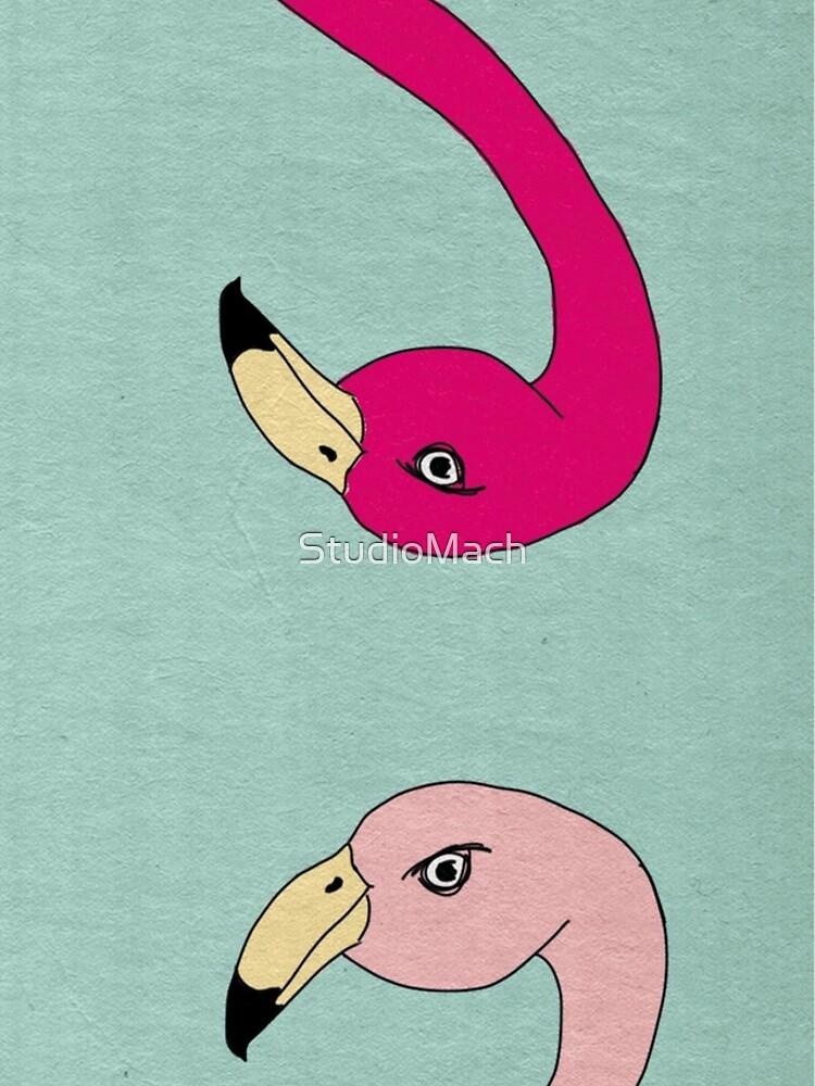 Flamingo Fever by StudioMach