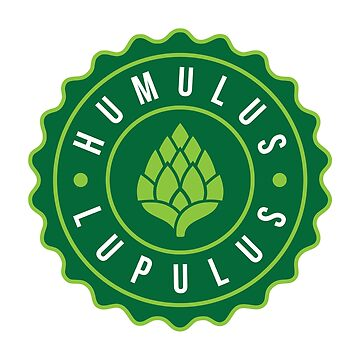 Humulus Lupulus Bottle Cap Graphic Tee by feedercreative