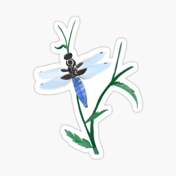 Libelle Sticker