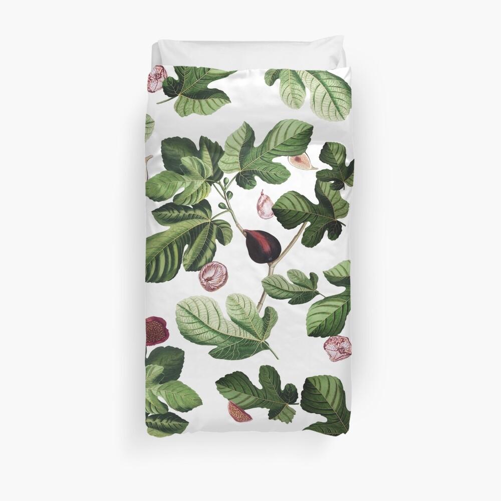 Figs white Duvet Cover
