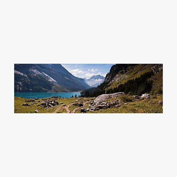 Oeschinensee, Kandersteg, Switzerland Photographic Print