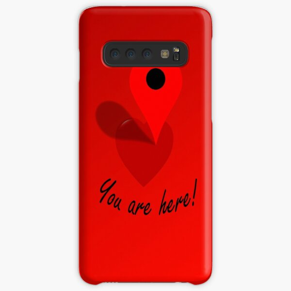 You Are Here! Samsung Galaxy Snap Case