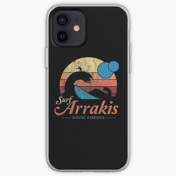 Visit Arrakis - Vintage Distressed Surf - Dune - Sci Fi iPhone Soft Case