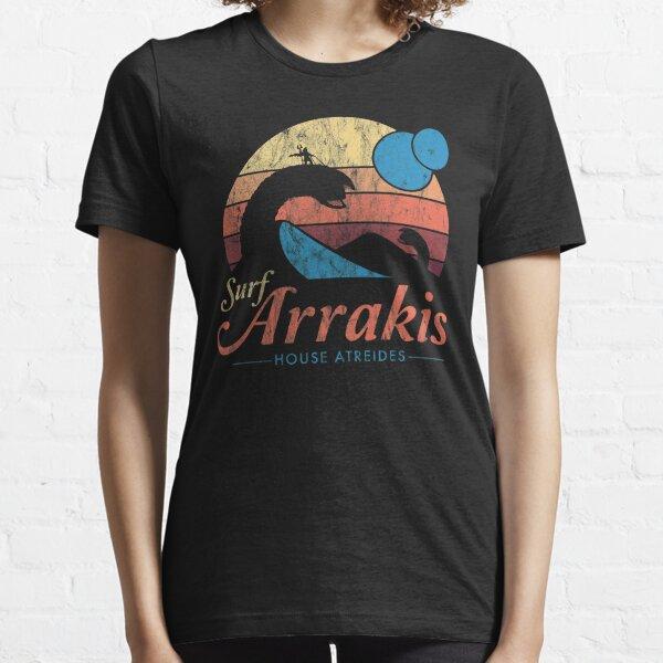 Visit Arrakis - Vintage Distressed Surf - Dune - Sci Fi Essential T-Shirt