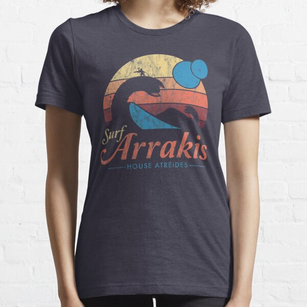 Besuchen Sie Arrakis - Vintage Distressed Surf - Dune - Sci Fi Essential T-Shirt