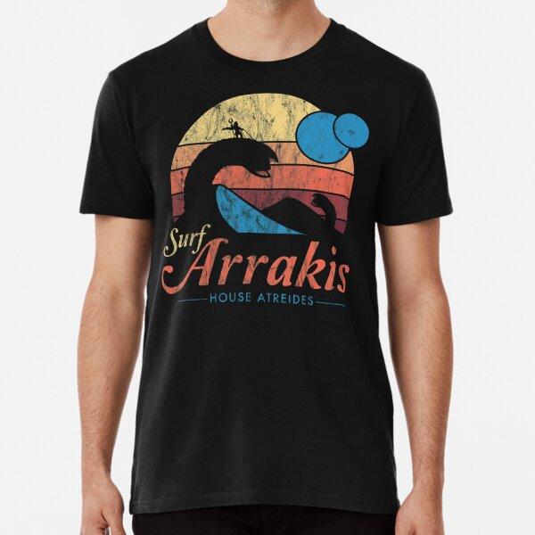 Visit Arrakis - Vintage Distressed Surf - Dune - Sci Fi Premium T-Shirt