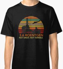 Camiseta clásica Chernobyl - 3.6 Roentgen
