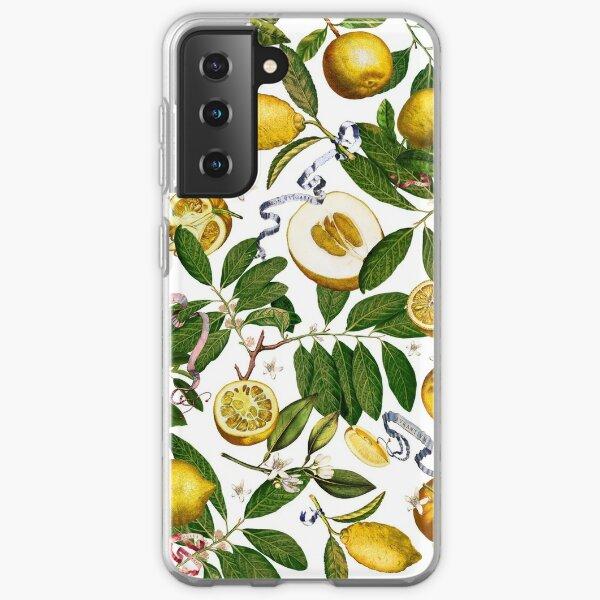 Lemon Tree - White Samsung Galaxy Soft Case