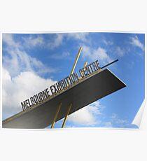 Melbourne Exhibition Centre Poster