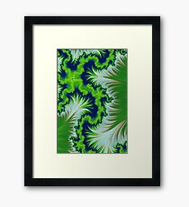 Earth Fractal Framed Print
