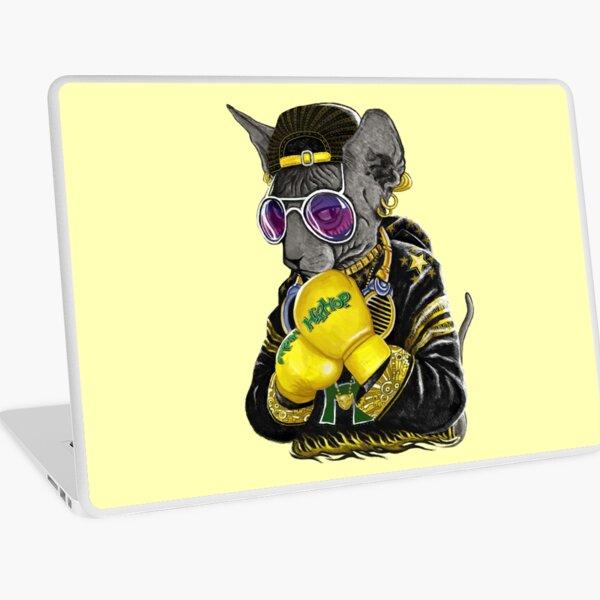 Boxing cat 3 Laptop Skin