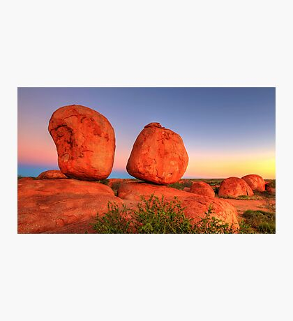 The Devils Marbles Photographic Print