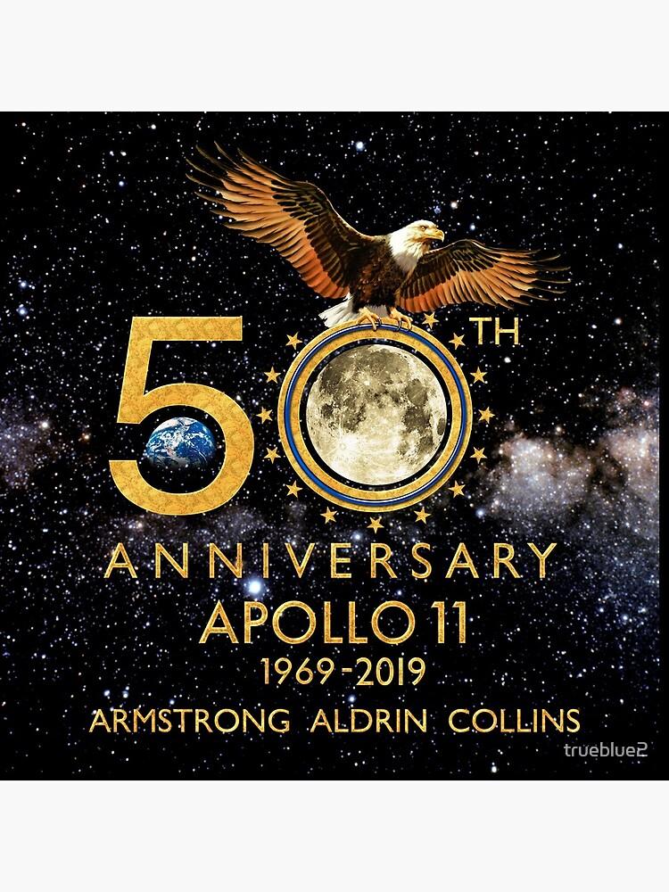 50 aniversario de la llegada a la luna del Apolo 11 1969-2019 de trueblue2