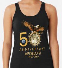 Apollo 11 zum 50. Jahrestag der Mondlandung 1969-2019 Racerback Tank Top