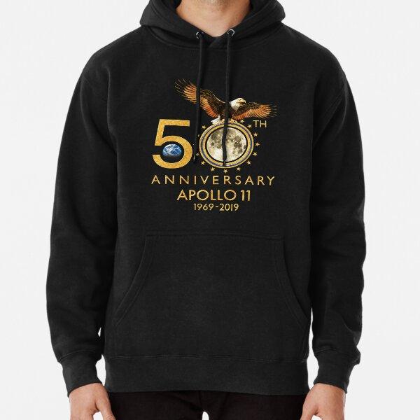 50th Anniversary Apollo 11 moon landing 1969-2019 Pullover Hoodie