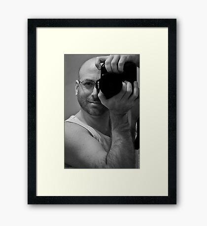 Me. Framed Print