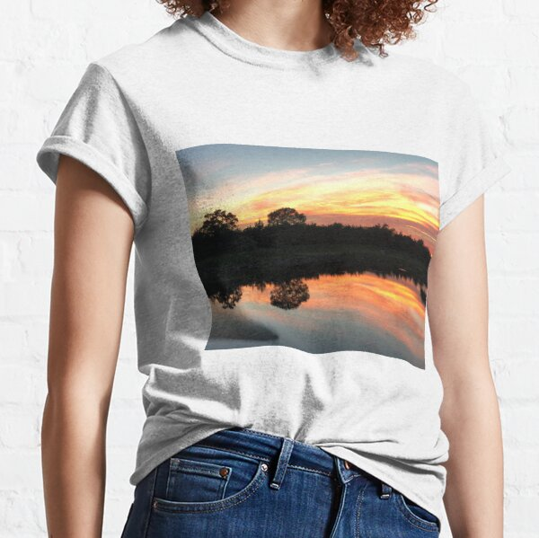 Sunset on the Course Classic T-Shirt