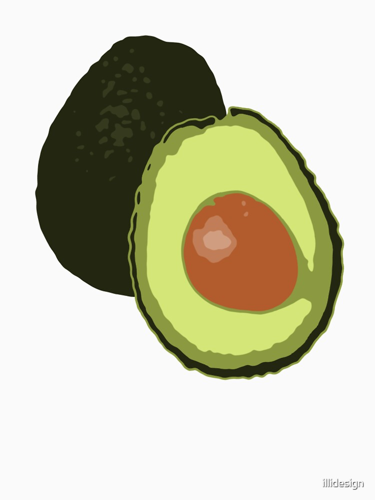 Avocado by illidesign